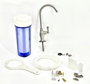 complete arsenic filter system with faucet