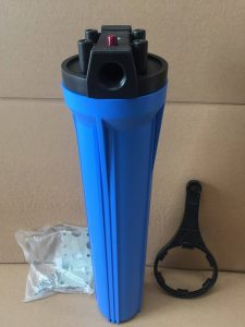 "Dirt and Sediment Water Filter 20"" Blue"
