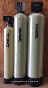 Terminox iron water filter system