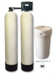 Twin Alternating Tank Water Softener