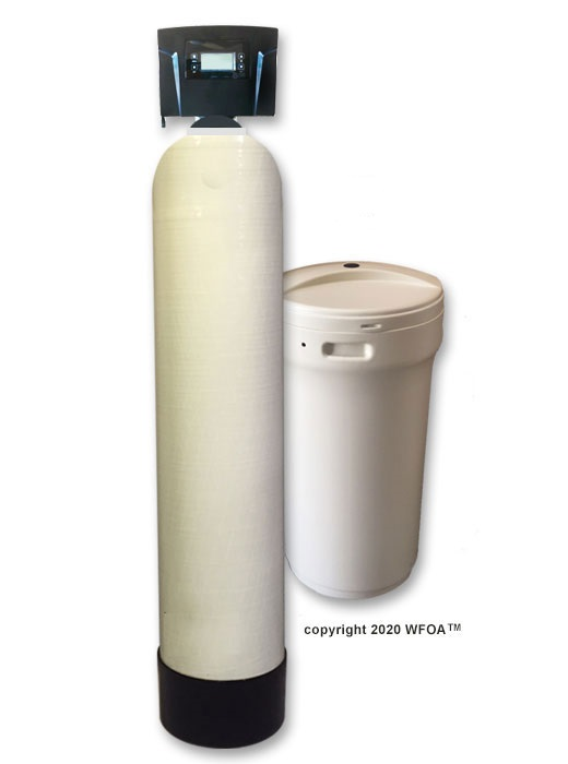 large metered water softeners
