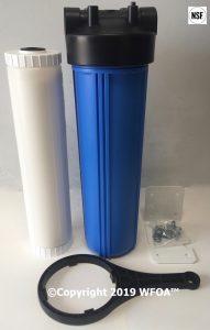 "20"" sediment cartridge filter whole house"